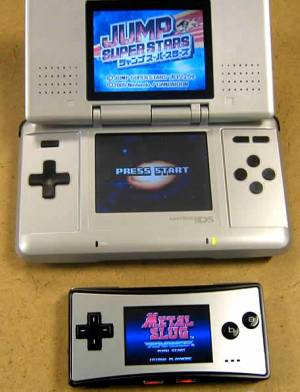Game Boy Micro vs. Nintendo DS