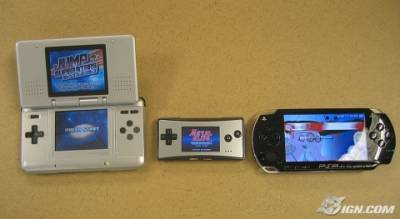 Nintendo DS, Game Boy Micro, Sony PSP