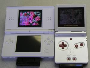 Nintendo DS Lite vs. GBA SP